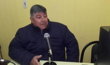 Visitó nuestros estudios Nestor Ferreyra el papá de Agustín.