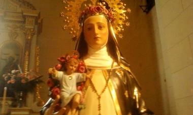 Del 21 al 29 de Agosto Novena Patronal en Honor a Santa Rosa de Lima en General Roca.