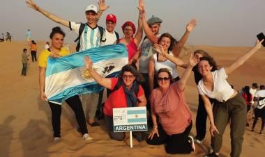 La Delegación del Inst. José Hernández vivió un día de Turismo Aventura en Dubai.