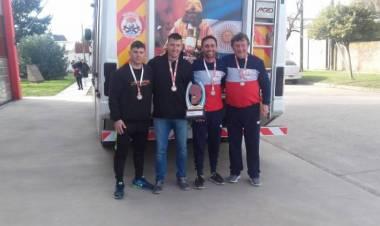 Marcos Botacin viaja a Rosario al VIII Desafio de habilidades bomberiles 2019.