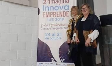 La Prof. Raquel Raccaro del Inst. Priv. Prov. José Hernández  invitada a disertar en Colombia.