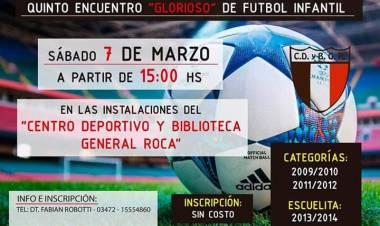 5to Encuentro Glorioso de Fútbol Infantil - La Sub Comisión visitó los estudios de Radiovision.